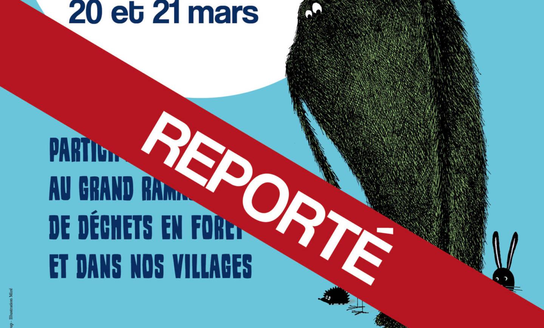 """Report de la journée """"forêt belle"""""""