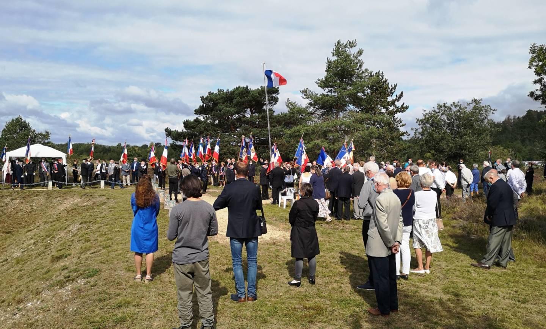 Hommage aux 36 fusillés de la plaine de Chanfroy