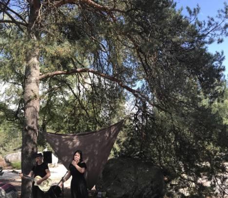 Slam et poésie au Rocher Cailleau